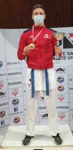 DINO ŠIMUNEC, juniori do 76 kg